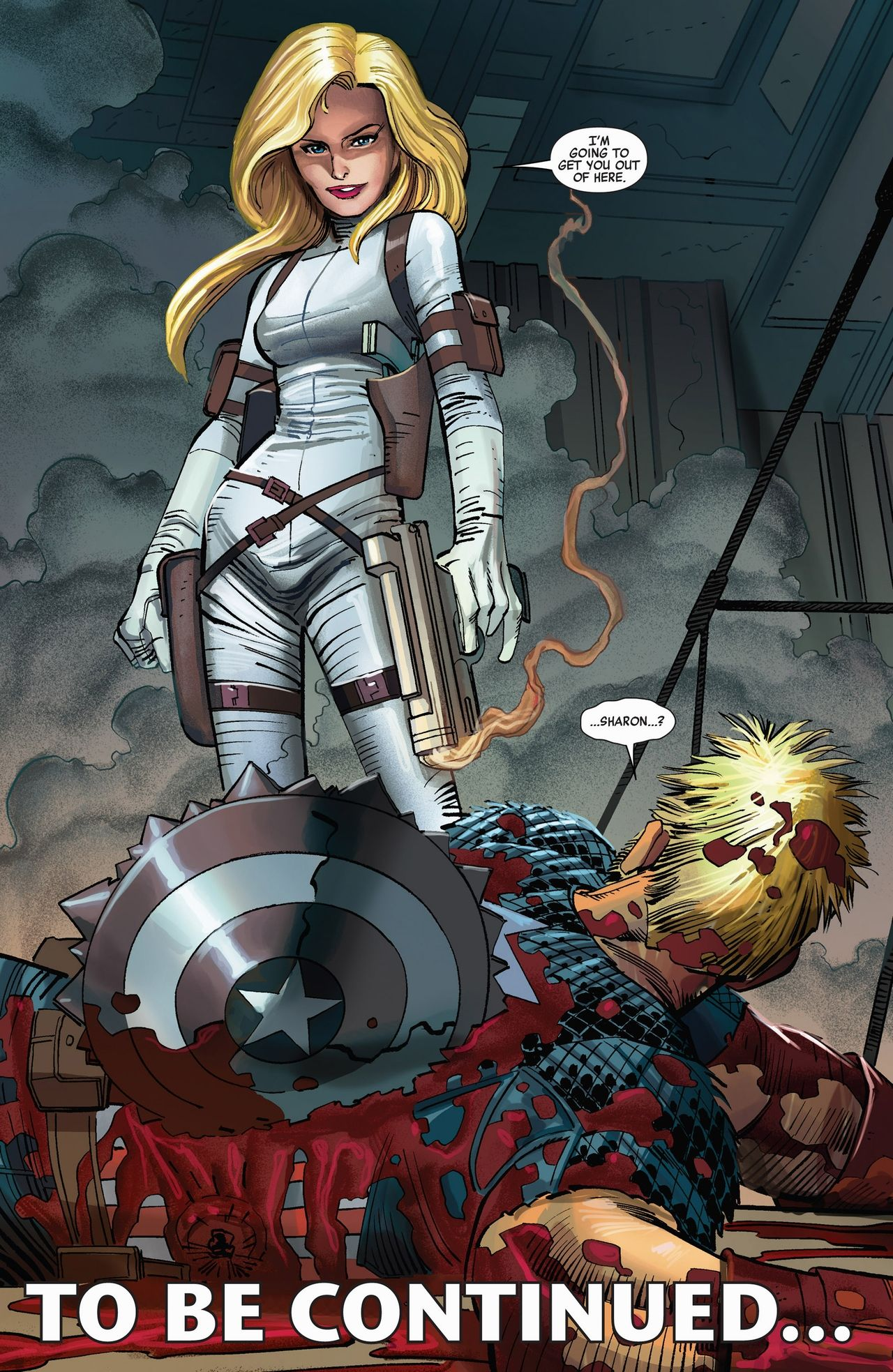 Sharon Carter screenshots, images and pictures - Comic Vine