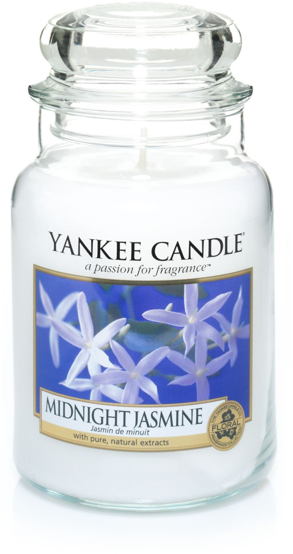 Large jar midnight jasmine candle light pinterest jar and lights