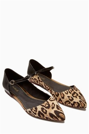 258f7d9202d17 Buy Leopard Mary Jane Points from the Next UK online shop