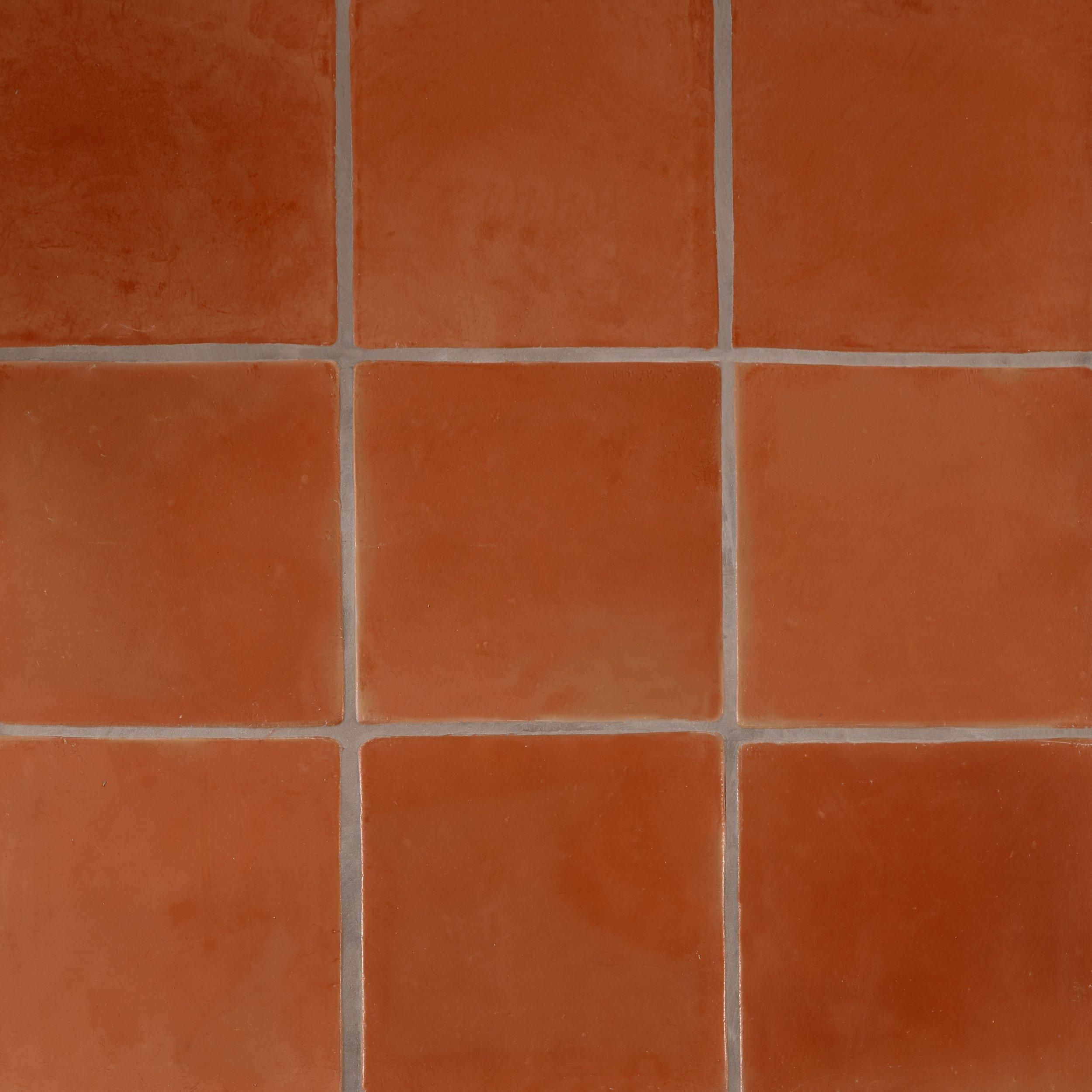 Super Sealed Saltillo Tile In 2020 Saltillo Tile Flooring Red Tile Floor