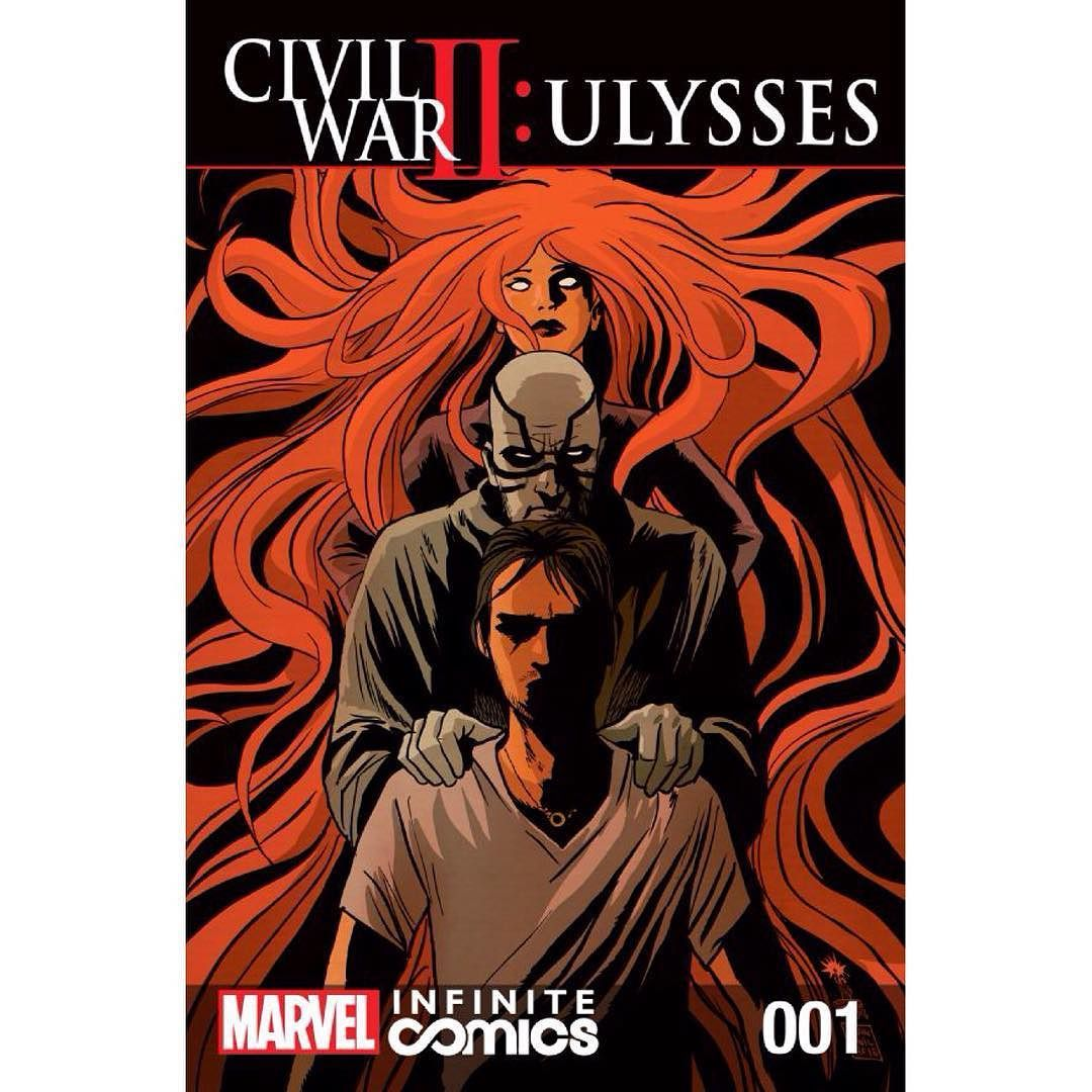 Ulysses No.1 Civil War II 2016 Al Ewing /& Karl Kesel