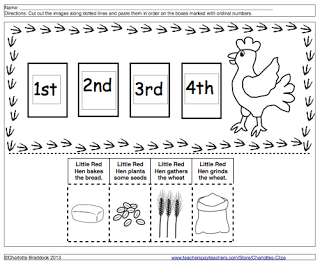 graphic regarding The Little Red Hen Story Printable titled Pin through Laurie Witz upon Visualize Storybook Worksheets and
