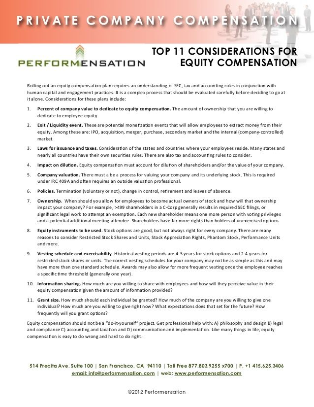 Private Company Compensation Top Tops Holding Company Consideration