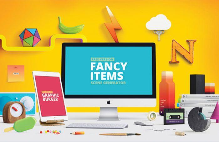 Nuevas Tendencias En Mockups En Este Ano Layer Magazine Web Design Projects Scene Generator Web Design