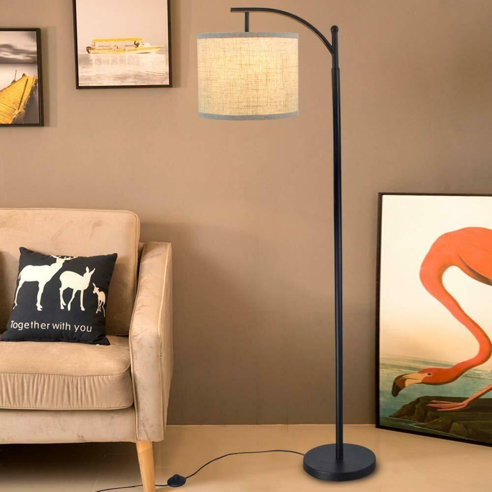 Modern Led Standing Floor Lamp Reading Tall Floor Lamp For Parlour