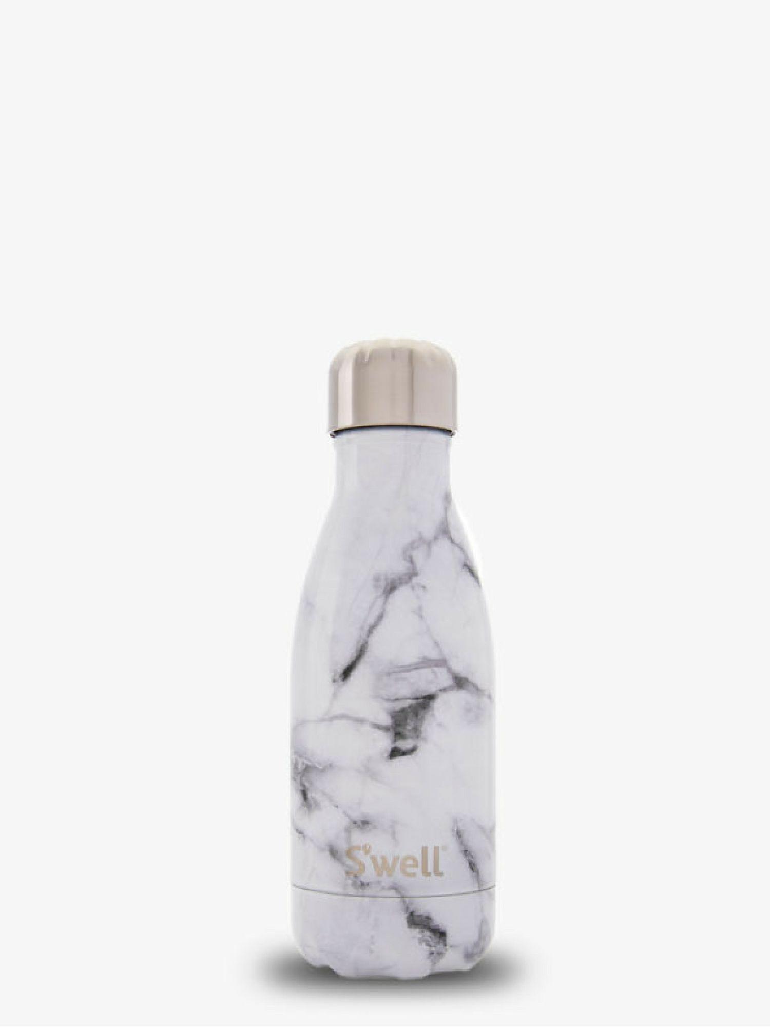 Element White Marble Bottle Metal Water Bottle Swell Bottle