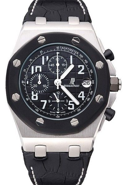 5707f2ccb82 Audemars Piguet Royal Oak Offshore Replica Watch: Movement-Quartz  (Battery), Quality