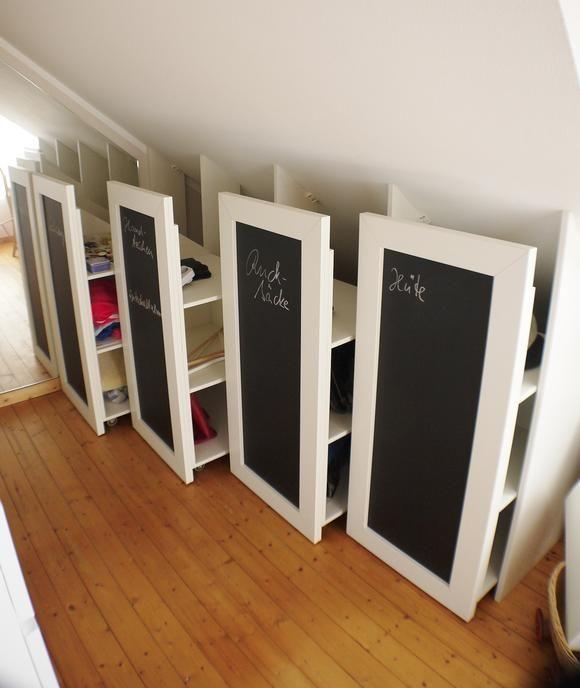 rollcontainer f r dachschr gen in 2018 wohnen pinterest dachschr ge dachboden und schrank. Black Bedroom Furniture Sets. Home Design Ideas