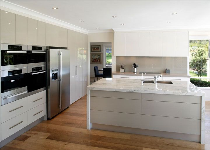 Designing Modern And Classic Kitchens With Falcon Ovens White Modern Kitchen Kitchen Inspiration Design Contemporary Kitchen Design