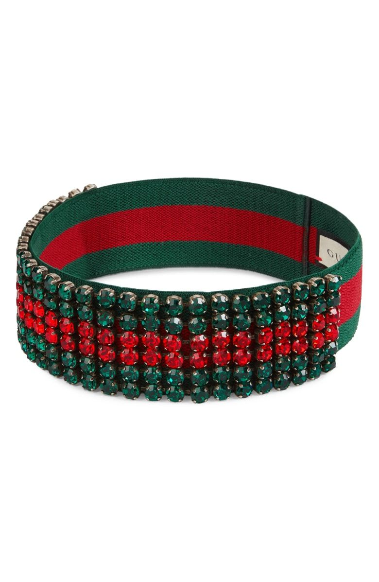 5ed15e1b244 Free shipping and returns on Gucci Webby Crystal Headband at Nordstrom.com.  Instantly recognizable