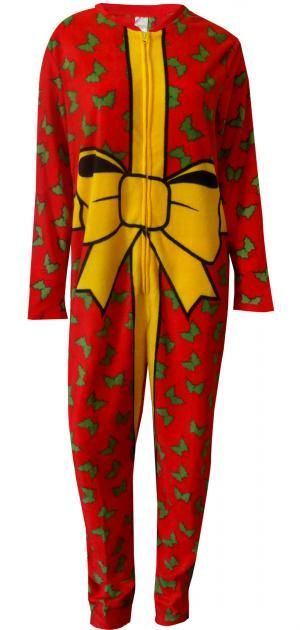 WebUndies.com The Best Christmas Gift is Me One Piece Union Suit Pajama 051897911