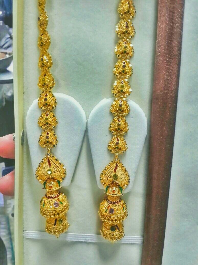 Pin by Rishabh on Earrings | Pinterest | Gold, Ear rings and Gold ...
