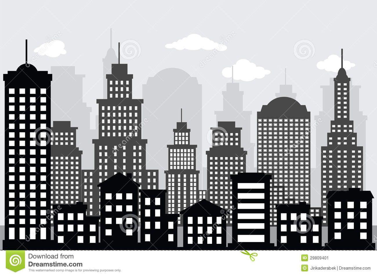 Imagenes De Edificios En Caricatura
