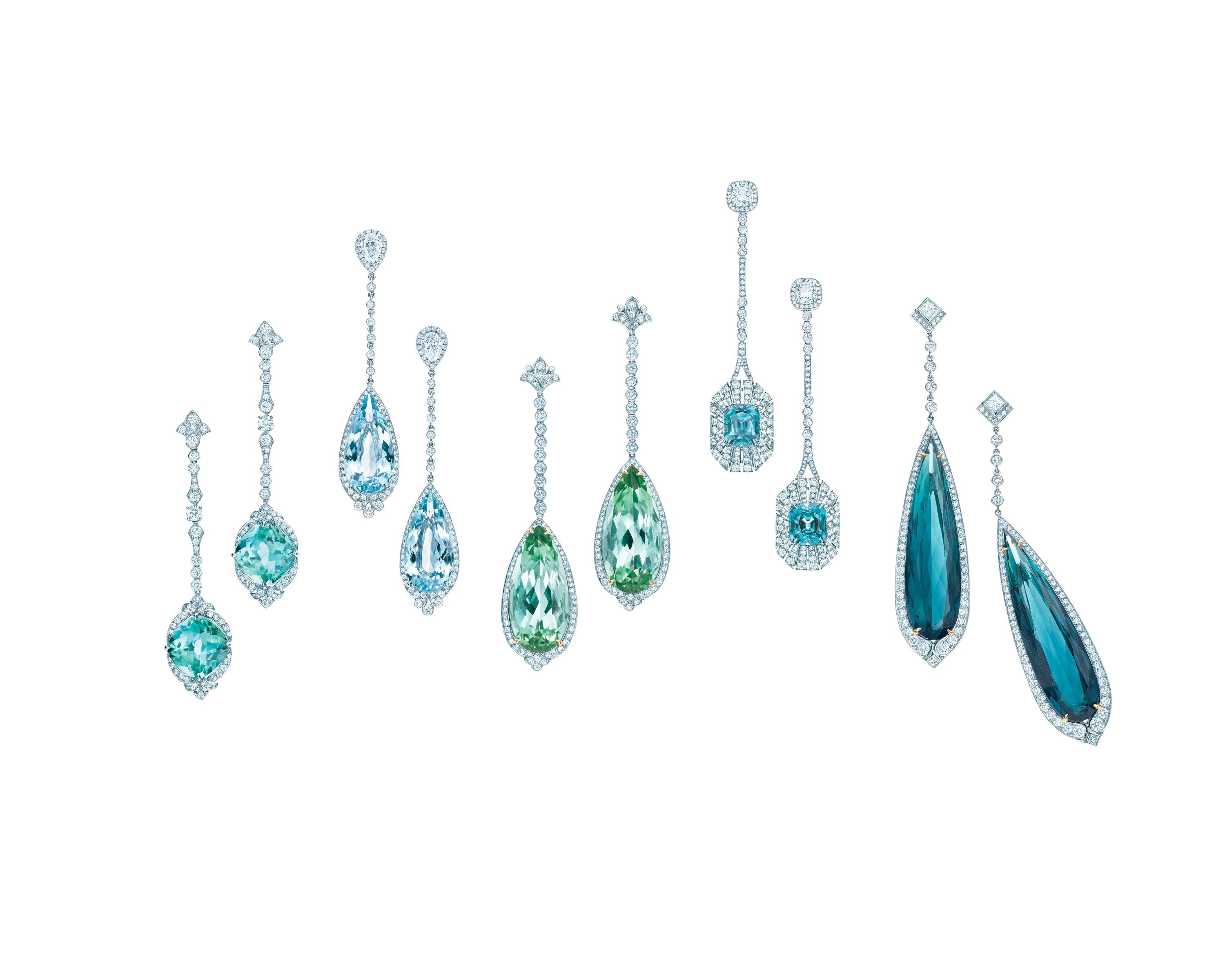 online tiffany earrings and christies christie chandelier aquamarine co diamond nyr jewels s