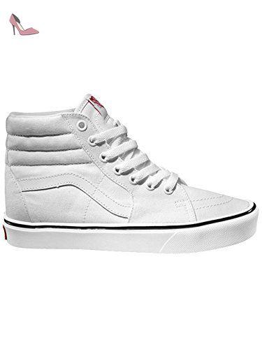 Vans Sk8Hi Canvas Sneakers Hautes Mixte Adulte