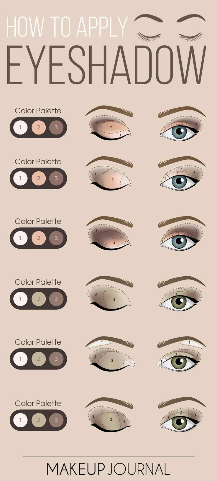 How to apply eye shadow Makeup, Makeup secret, Bronze