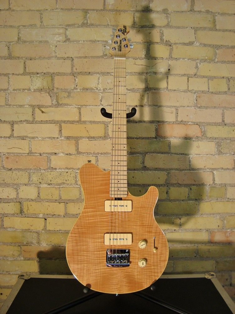 Ernie Ball Musicman Axis Supersport Mm90 Natural Music Instruments