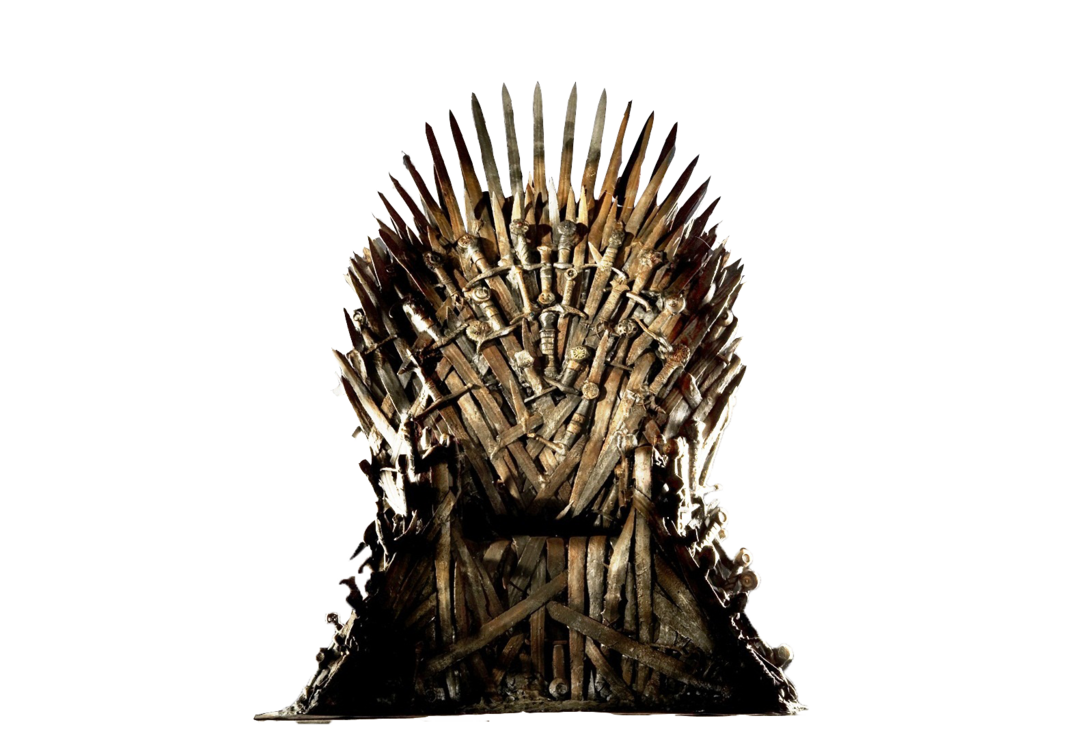 Game Of Thrones The Iron Throne Png By Wishfulrose On Deviantart Trono De Ferro Game Of Thrones Jon E Daenerys