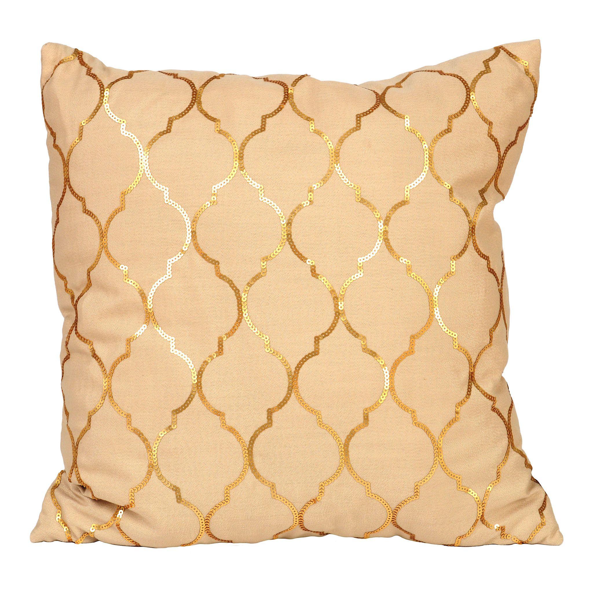 cushion rose bismillah image gold magic hafsacreates pillow sequin products cover