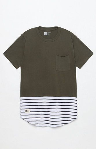 Parallel Pocket Scallop T-Shirt   STREETWEAR in 2019   Pinterest ... 86002b86dc20