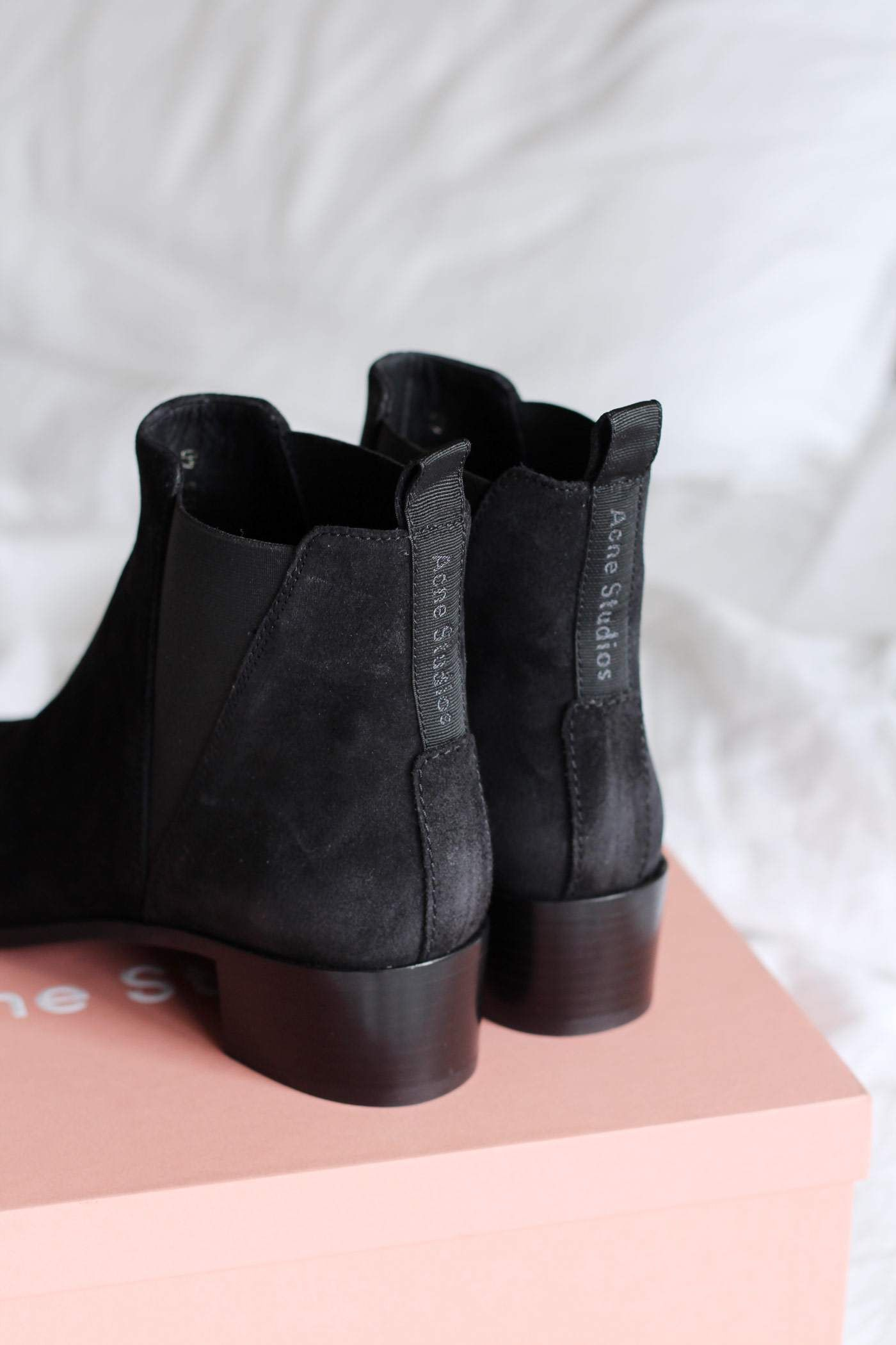 Sale The Cheapest Black Suede Jensen Boots Acne Studios Clearance Browse vMsRo