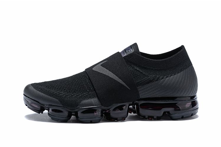 Nike Air VaporMax 2018 Flyknit MOC Black Grey Men Shoes