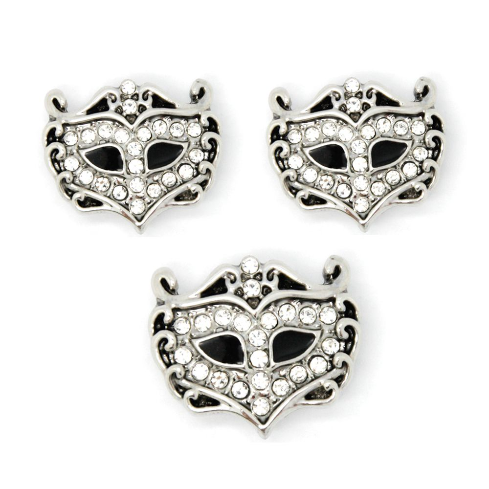 Legenstar wholesale snap charms jewelry mm fashion mask button