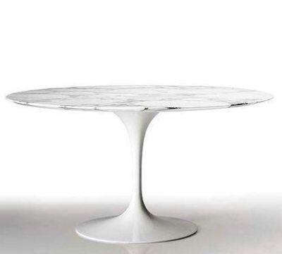 Eero Saarinen Tulip Style Marble Top Dining Table 32 Ebay