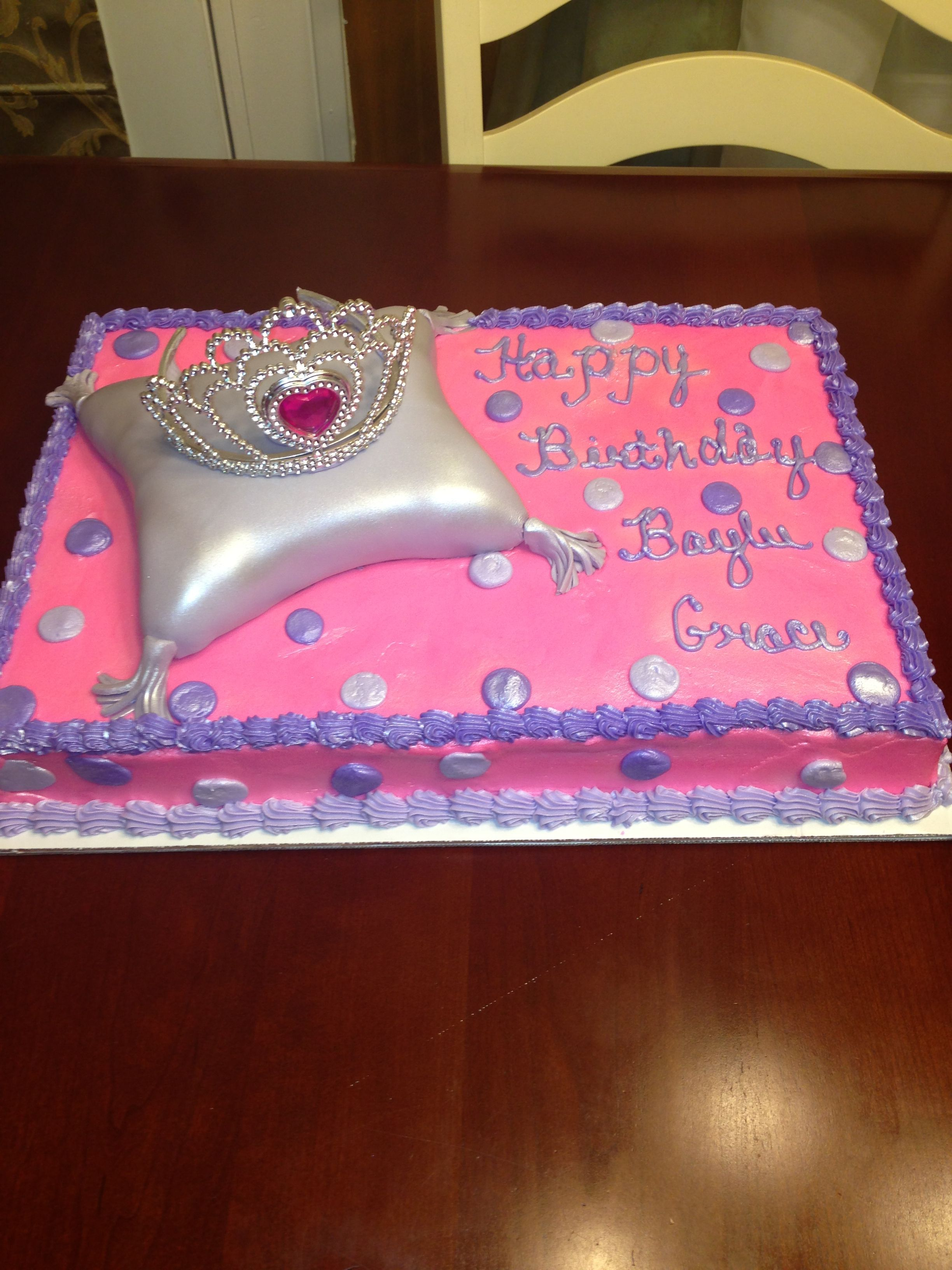Princess Sheet Cake With Images Birthday Sheet Cakes Baby