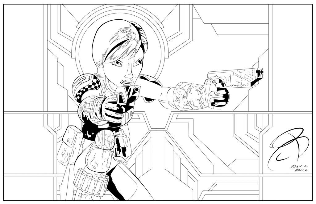 Coloring Pages Sabine Wren by RCBrock on DeviantArt LineArt