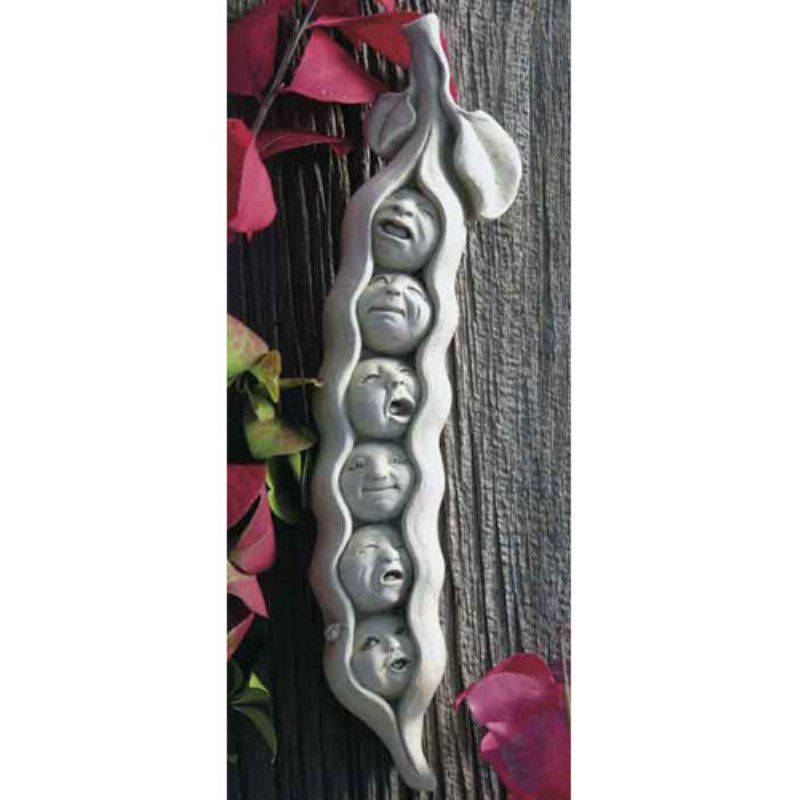 Sweet Pea Sextuplets Wall Plaque Outdoor Wall Art Wall Plaques
