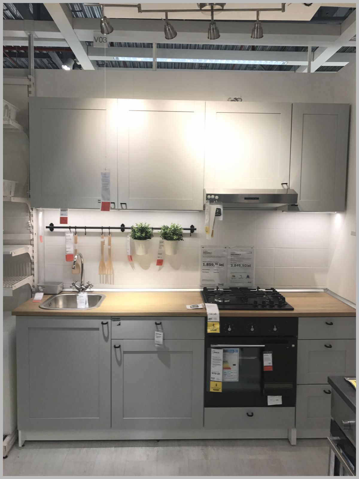 Appealing Small Kitchen Design Ideas From Ikea When Reviewing