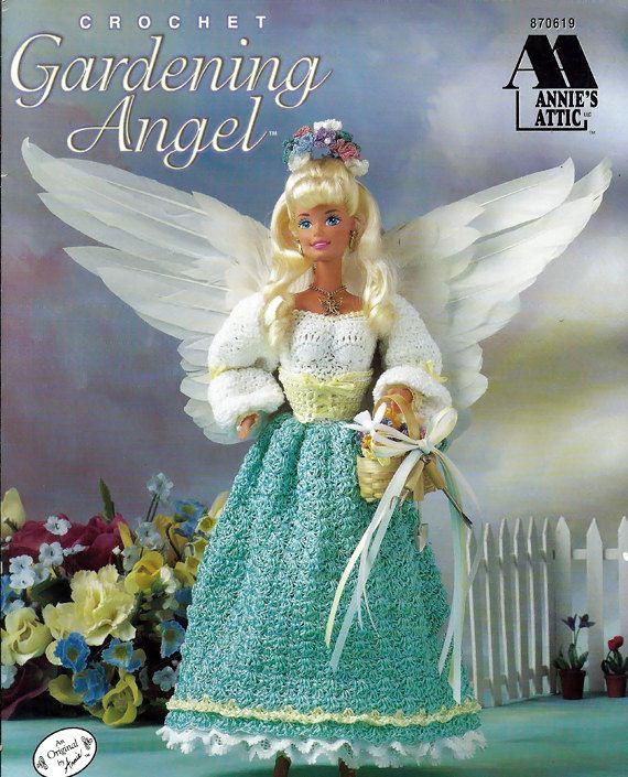 Gardening Angel Fashion Doll Crochet Pattern Annies Attic 870619 ...