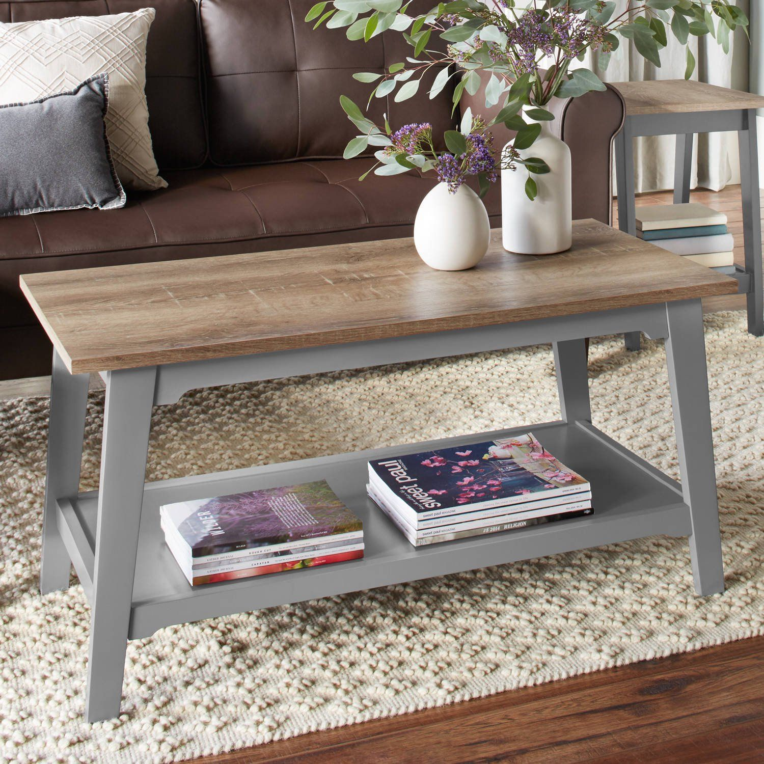 Better Homes Gardens Bedford Coffee Table Multiple Colors Walmart Com Coffee Table Farmhouse Coffee Table Creative Coffee Table [ 1500 x 1500 Pixel ]