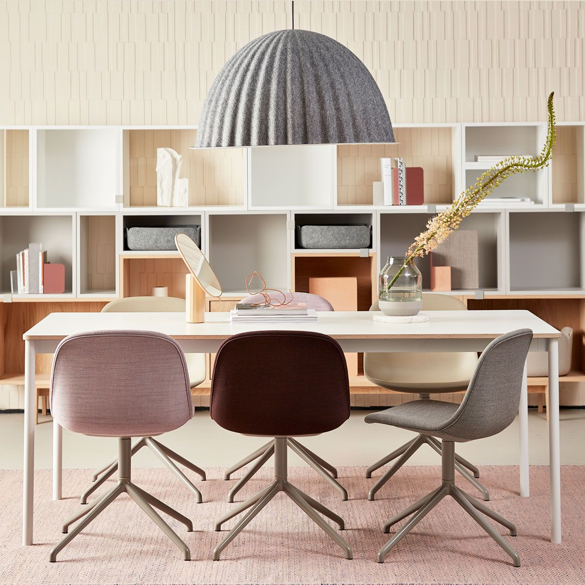 The Fiber Side Chair With Swivel Base Carries A Formal Professional Expression High Office Furniture Design Office Interior Design Office Furniture Solutions