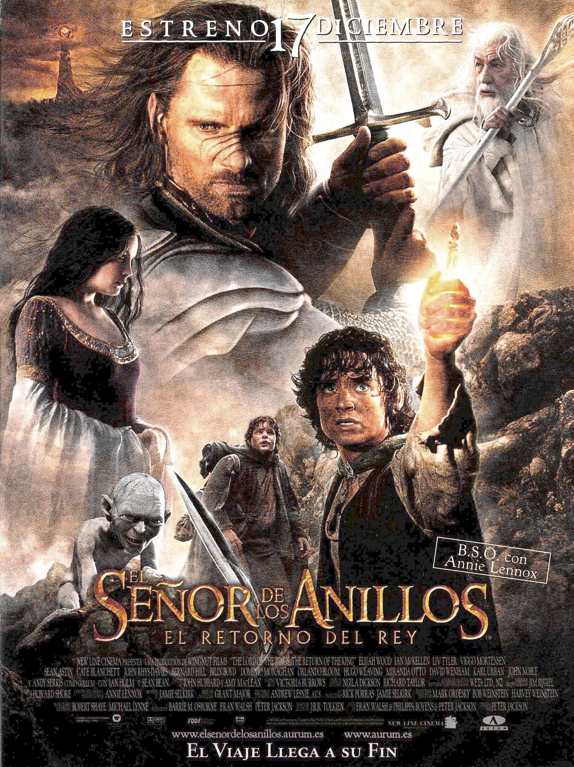El Señor De Los Anillos El Retorno Del Rey De Peter Jackson Kings Movie Good Movies Movie Posters