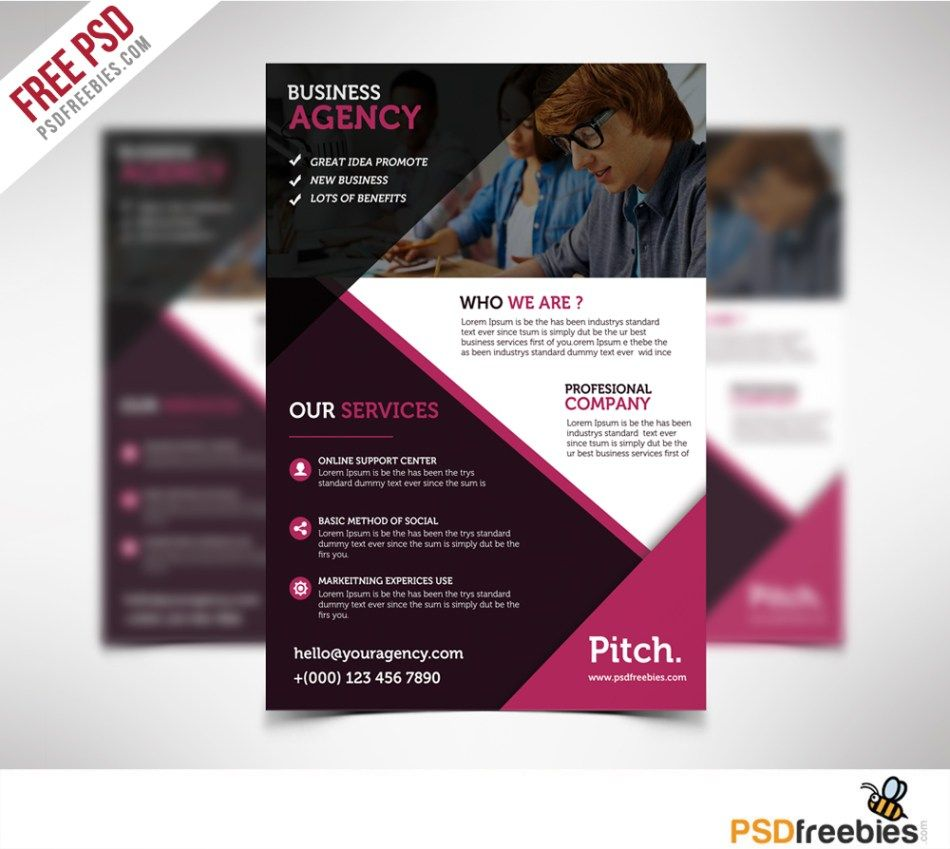 Design Professional And Eye Catching Flyer For You Brochures - Professional brochure templates free