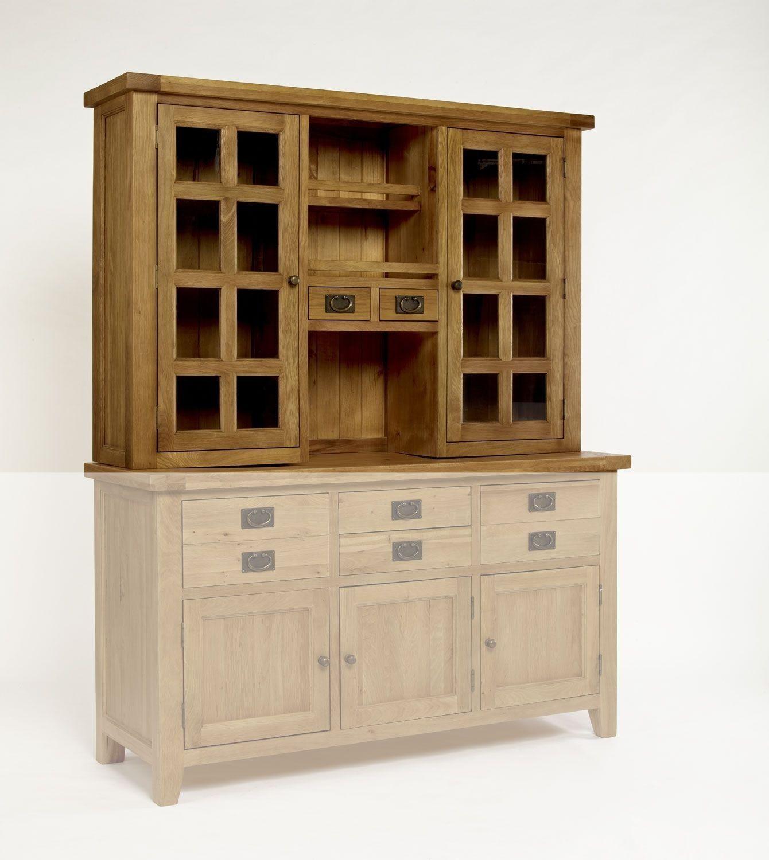 Provence Oak Glazed Dresser Top TOP ONLY