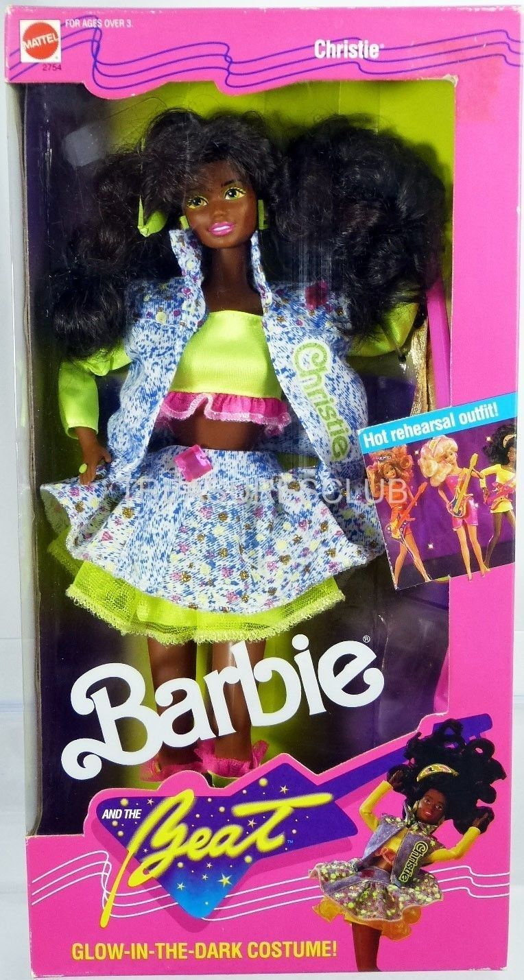 Barbie and the Beat Christie W//glow in the Dark Costume Mattel 2754
