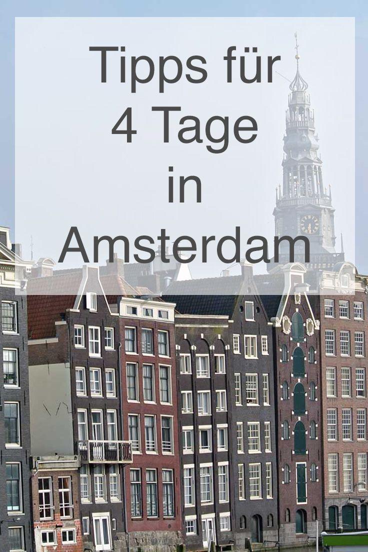 Reisebericht: 4 Tage in Amsterdam - Reisetipp von #skintips