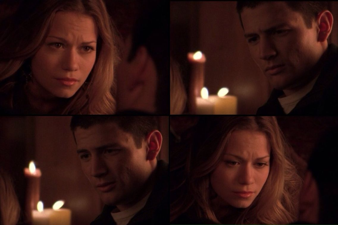 Haley: I'm not proud of it because I know you weren't proud of me. Nathan: Is that what you think?