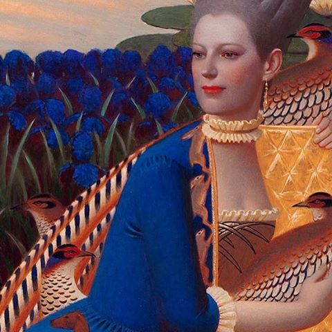 @andreyremnev ~ Habitat, detail, 90x60, 2014, oil on canvas #andreyremnev #oilpainting #painting