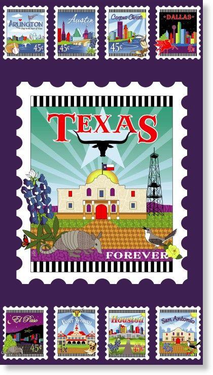Quilt Across Texas 2013 By Debra Gabel Panel Texas Quilt Quilts Quilt Shop