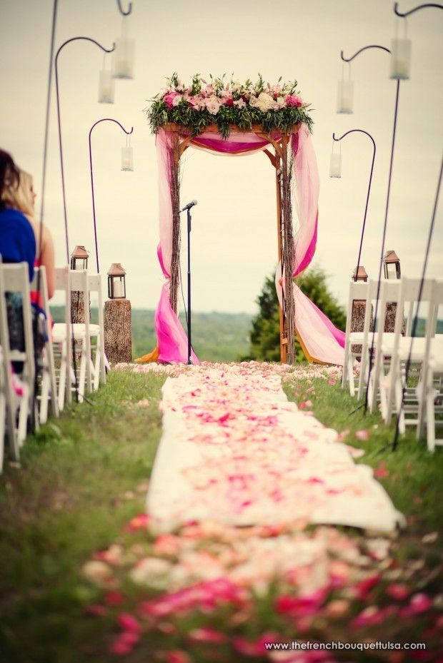 Outdoor Decoration Ideas For Rustic Weddings ++ Custom Made ++