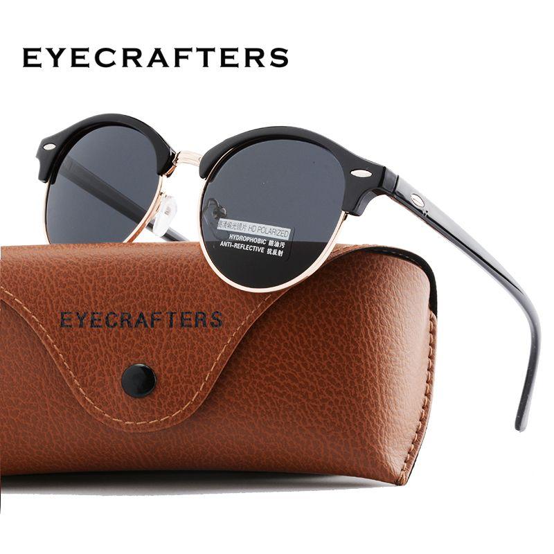 3c933768f Comprar Novos Óculos Polarizados Rodada Clube Designer de Óculos Redondos óculos  de Sol Das Mulheres Dos Homens Marca óculos de Sol Clássicos de Condução ...