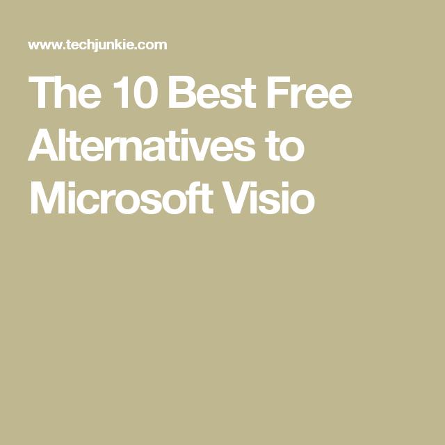 free alternative to visio