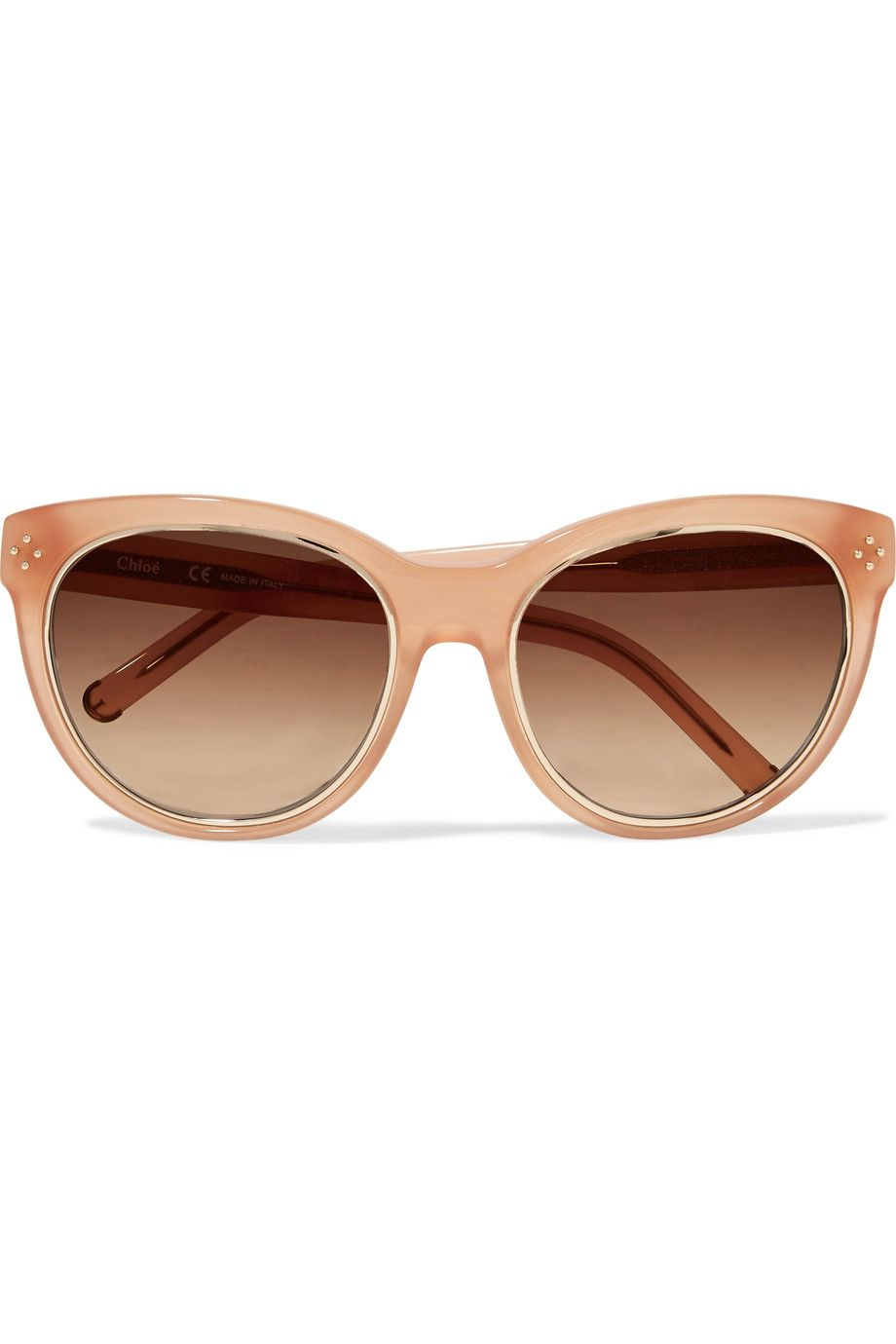 acd4d670880 Shop on-sale Chloé Round-frame acetate sunglasses. Browse other discount  designer Sunglasses   more on The Most Fashionable Fashion Outlet