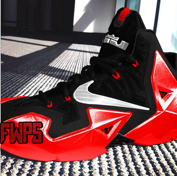 new concept 48b5e e1b52 Cheap LeBron 11 University Red Black Metallic Silver   Lebron James Sneaker  News   Pinterest   Lebron 11, Red black and Metallic
