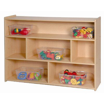 High Two Shelf Storage   Honor Roll Childcare Supply