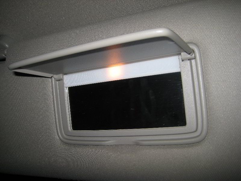Nissan Armada Vanity Mirror Light Bulb Replacement Guide